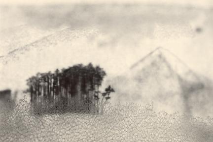 Mt. Fuji, 2013, toned gelatin silver print