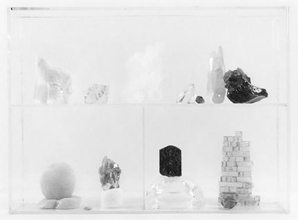Vitrine 2, 2013, gelatin silver print, 6.5 x 8 inches