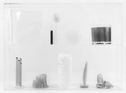 Vitrine 3, 2013, gelatin silver print, 6.5 x 8 inches