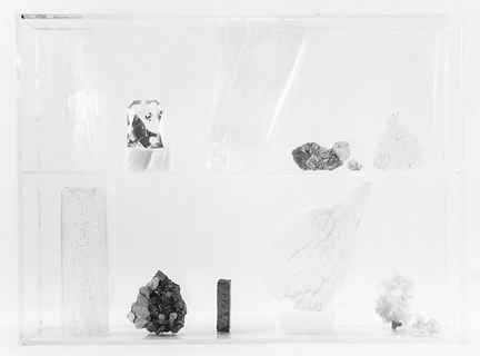 Vitrine 5, 2013, gelatin silver print, 6.5 x 8 inches